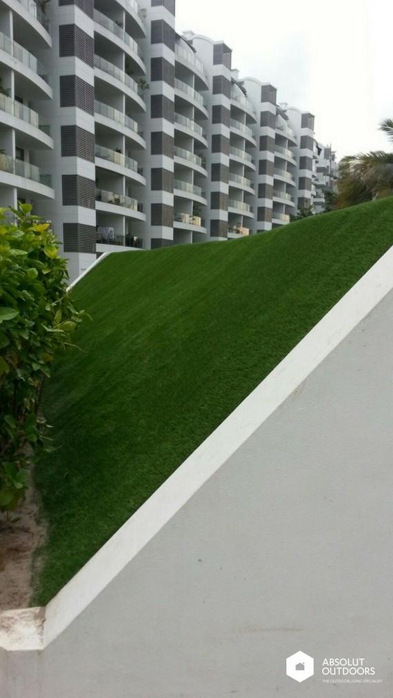 Artificial Grass Roof Terrace