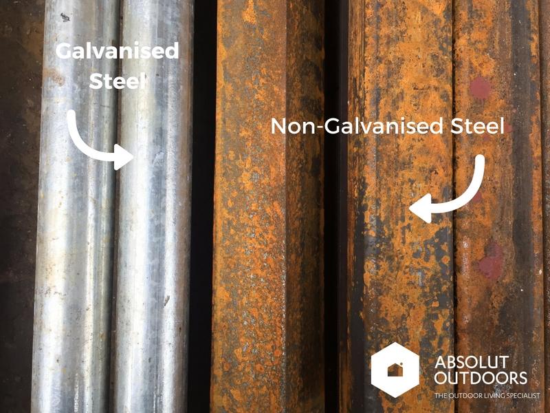 Galvanised vs Non-galvanised Steel