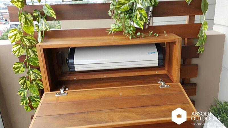 Customized decking storage