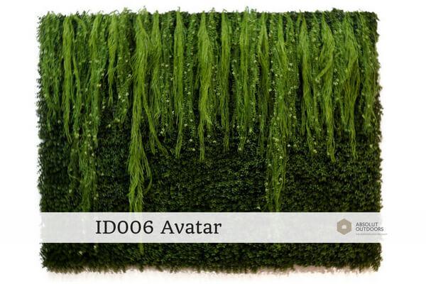 ID006 Avatar Indoor Artificial Vertical Garden