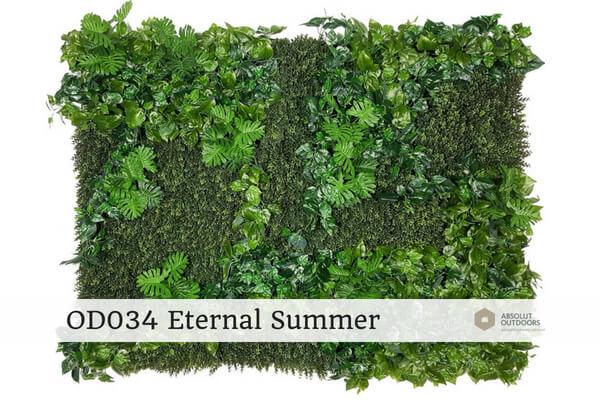 OD034 Eternal Summer Outdoor Artificial Vertical Garden