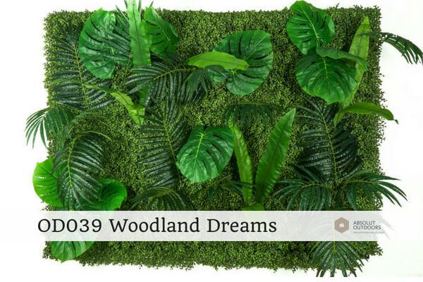 OD039 Woodland Dreams Outdoor Artificial Vertical Garden