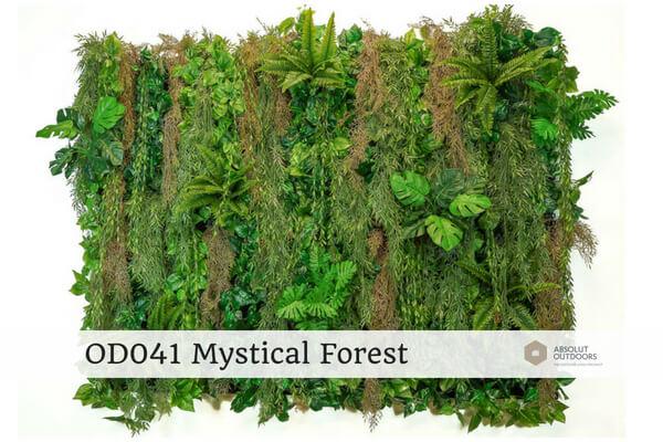 OD041 Mystical Forest Outdoor Artificial Vertical Garden