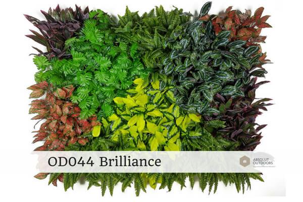 OD044 Brilliance Outdoor Artificial Vertical Garden