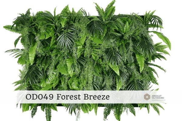 OD049 Forest Breeze Outdoor Artificial Vertical Garden