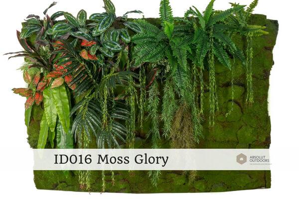 Indoor Green Wall ID016 Moss Glory