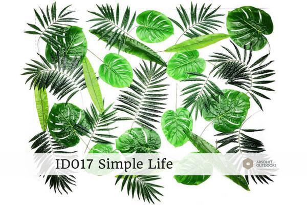 Indoor Green Wall ID017 Simple Life