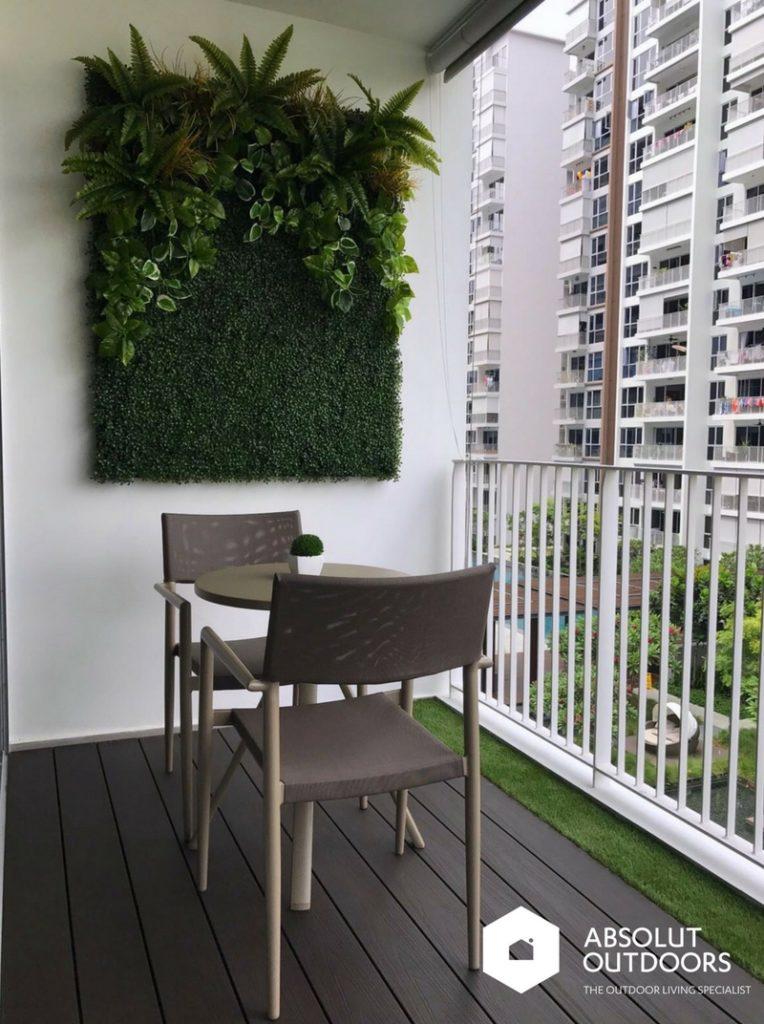 Making a Smallish Balcony Look Bigger